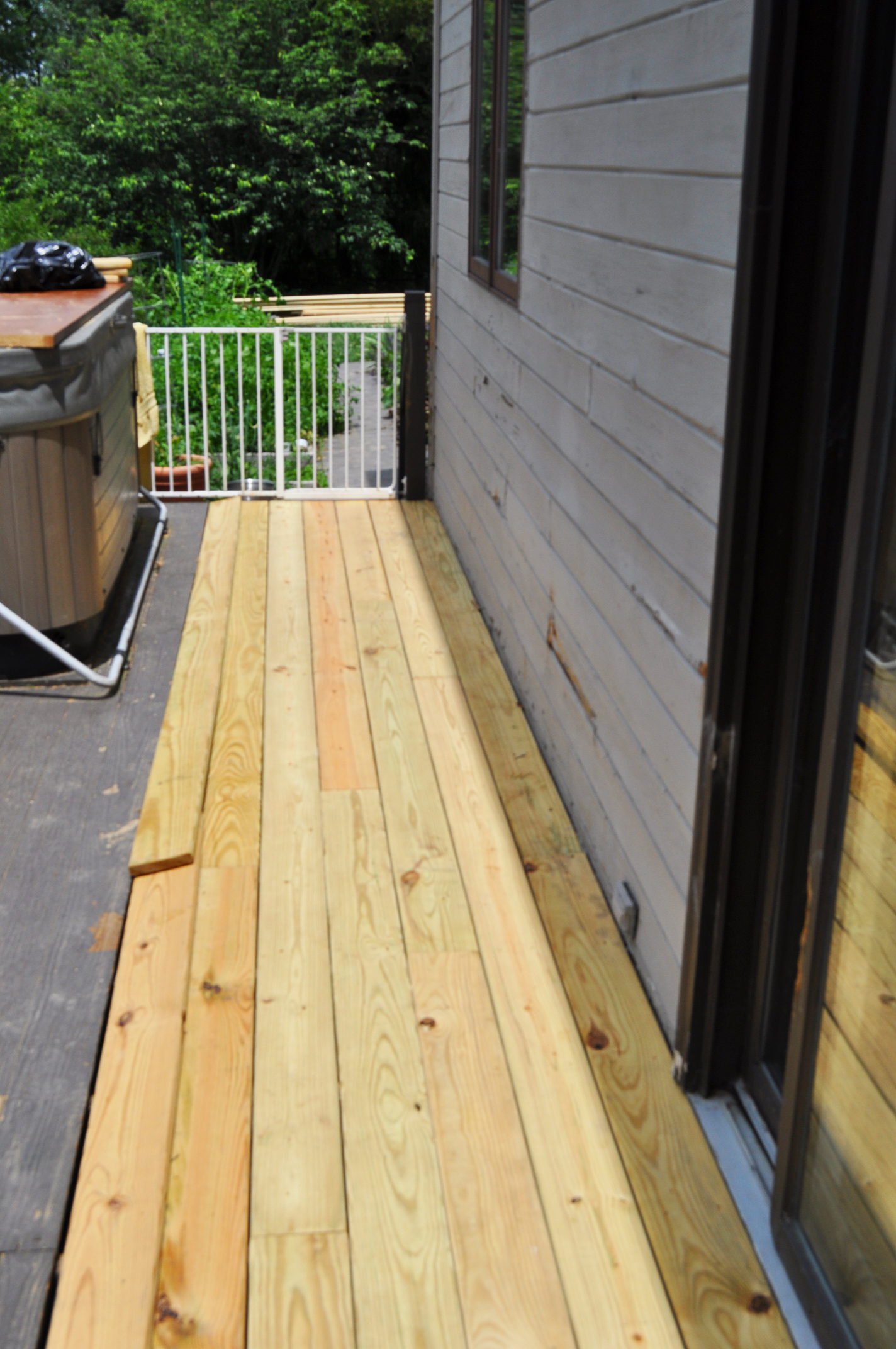 Deck repair just busy with life for Balcony repairs
