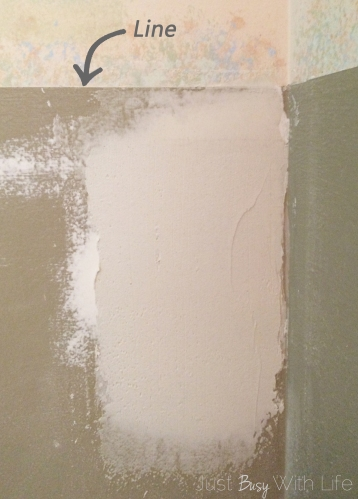 how do you remove wallpaper border from drywall